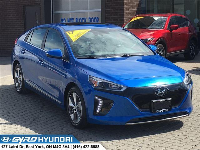 2017 Hyundai Ioniq EV Limited (Stk: H3343) in Toronto - Image 1 of 30