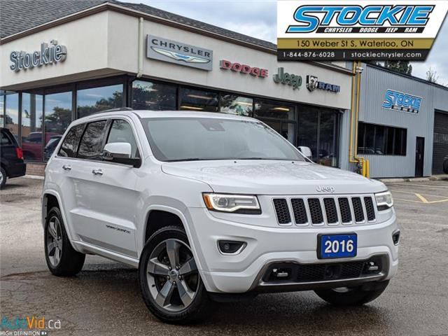 2016 Jeep Grand Cherokee Overland (Stk: 31877) in Waterloo - Image 1 of 29