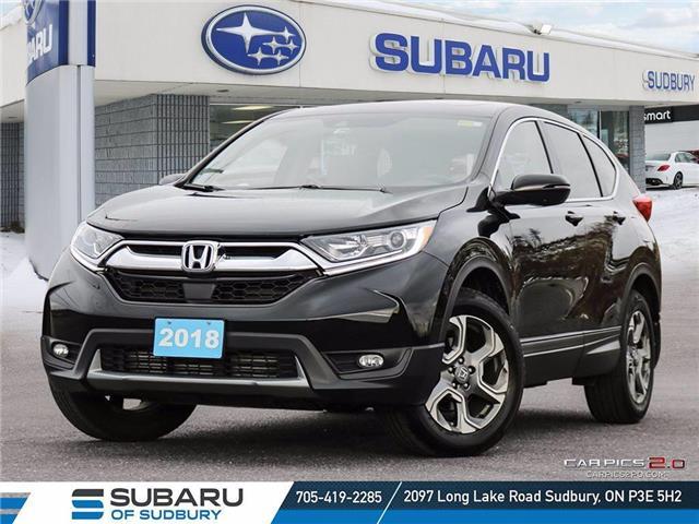 2018 Honda CR-V EX-L (Stk: UM1148) in Sudbury - Image 1 of 25