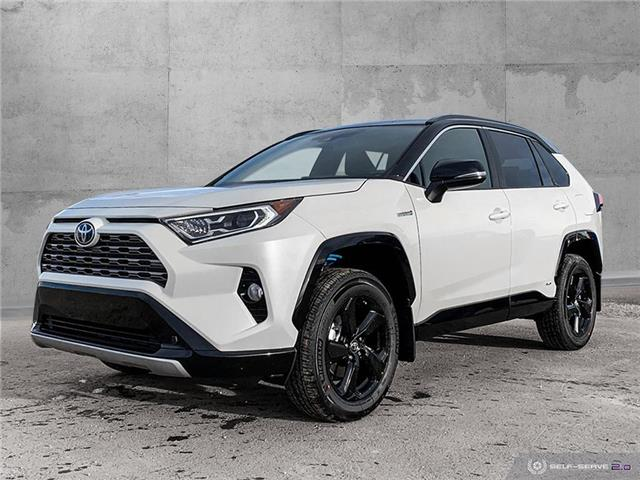 2021 Toyota RAV4 Hybrid XLE (Stk: 2125) in Dawson Creek - Image 1 of 25