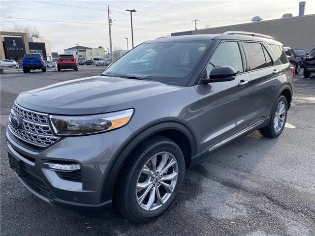 2021 Ford Explorer Limited (Stk: 21017) in Cornwall - Image 1 of 12