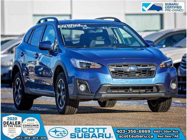 2018 Subaru Crosstrek Sport JF2GTAFC0JH292119 92119U in Red Deer