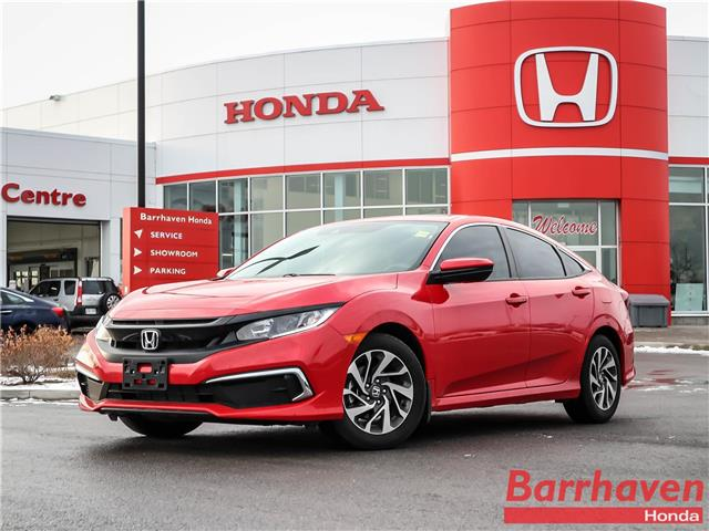 2020 Honda Civic EX (Stk: 3276A) in Ottawa - Image 1 of 28