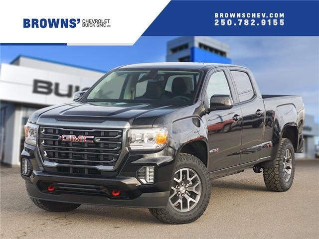 2021 GMC Canyon AT4 w/Leather (Stk: T21-1655) in Dawson Creek - Image 1 of 15