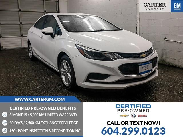 2017 Chevrolet Cruze LT Auto (Stk: P9-63120) in Burnaby - Image 1 of 24