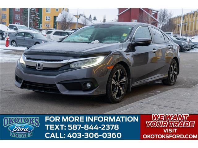 2017 Honda Civic Touring (Stk: B84037) in Okotoks - Image 1 of 24