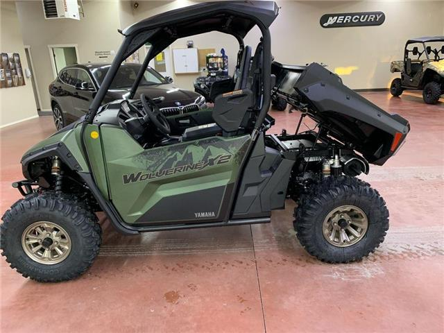 2021 Yamaha Wolverine X2 850 EPS SE  (Stk: YQ21-50) in Nipawin - Image 1 of 13