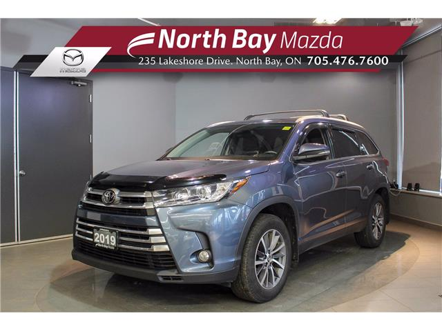 2019 Toyota Highlander XLE (Stk: U6764) in North Bay - Image 1 of 28
