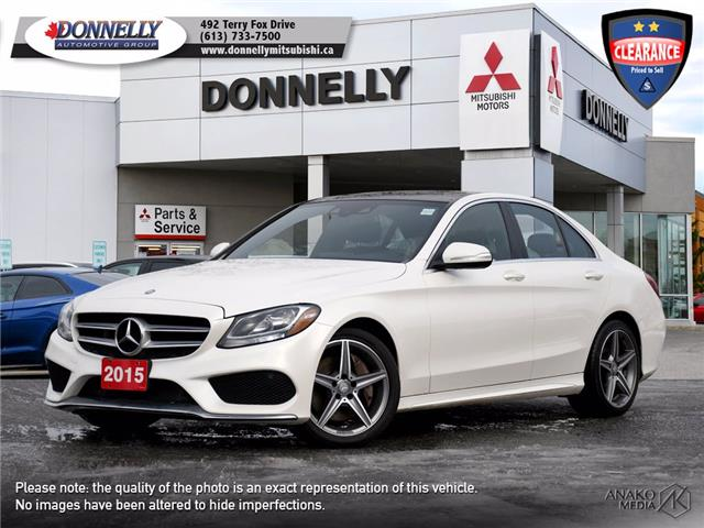 2015 Mercedes-Benz C-Class Base (Stk: MU1066) in Kanata - Image 1 of 26