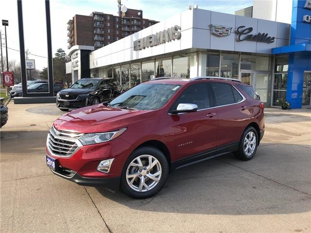 2018 Chevrolet Equinox Premier (Stk: 20118AA) in Chatham - Image 1 of 18