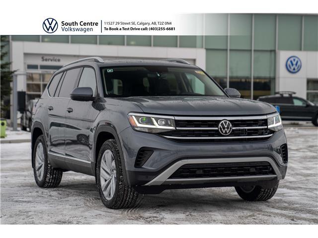 2021 Volkswagen Atlas 3.6 FSI Highline (Stk: 10074) in Calgary - Image 1 of 47