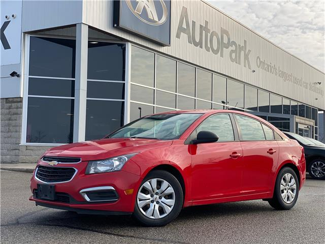 2016 Chevrolet Cruze Limited 2LS (Stk: 16-54306T) in Barrie - Image 1 of 22
