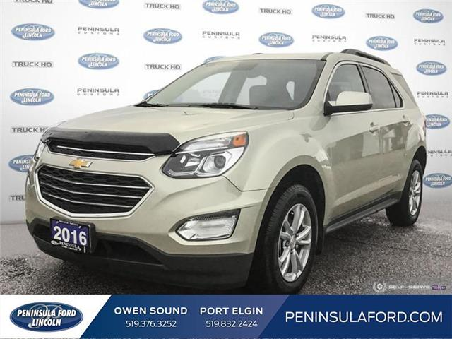 2016 Chevrolet Equinox LT (Stk: 20ES77A) in Owen Sound - Image 1 of 25