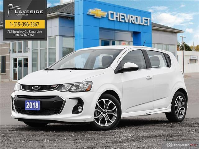 2018 Chevrolet Sonic LT Auto (Stk: B1077A) in Kincardine - Image 1 of 29