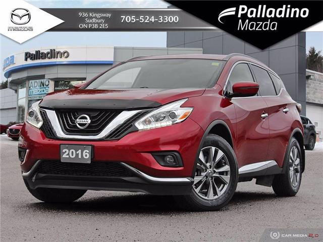 2016 Nissan Murano SV (Stk: 7916A) in Greater Sudbury - Image 1 of 29
