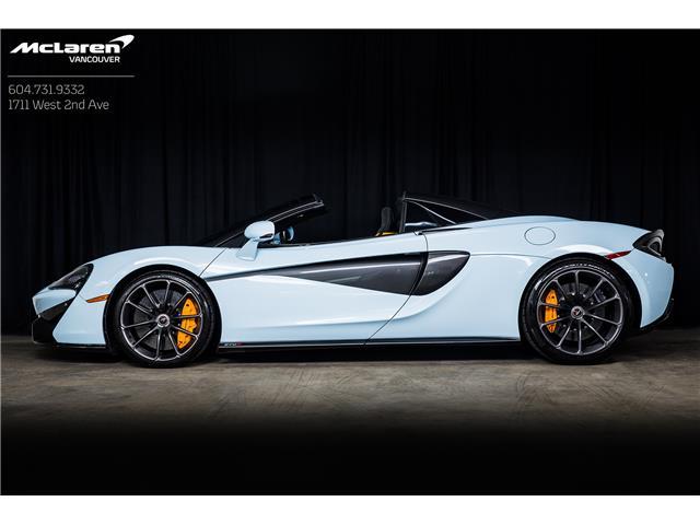 2018 McLaren 570S Spider  (Stk: PL498845) in Vancouver - Image 1 of 15