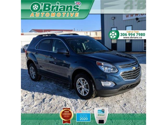2016 Chevrolet Equinox LT 2GNALCEK3G6167789 13816A in Saskatoon