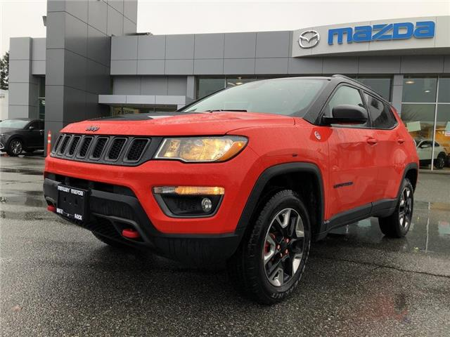 2018 Jeep Compass Trailhawk (Stk: 168124J) in Surrey - Image 1 of 15