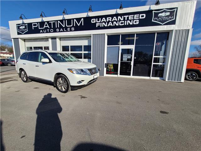 2014 Nissan Pathfinder Platinum (Stk: 730904) in Kingston - Image 1 of 13