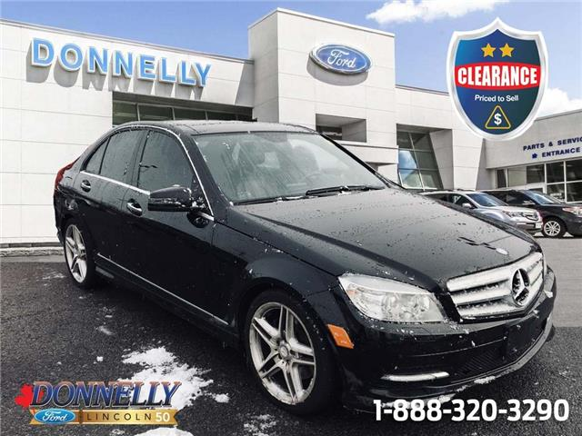 2011 Mercedes-Benz C-Class Base WDDGF8HB8BF534337 CLDS1281A in Ottawa