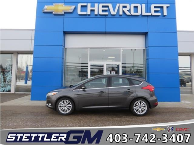 2018 Ford Focus Titanium (Stk: 46280A) in STETTLER - Image 1 of 18