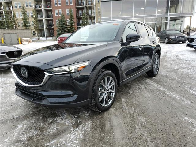 2021 Mazda CX-5 Signature (Stk: N6261) in Calgary - Image 1 of 4