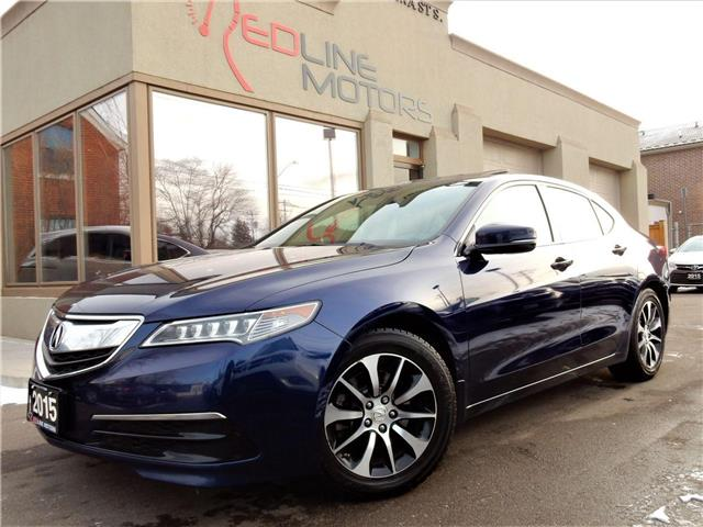2015 Acura TLX Tech (Stk: 19UUB1) in Kitchener - Image 1 of 24