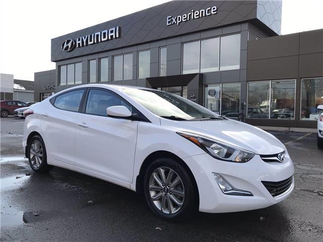 2016 Hyundai Elantra Sport Appearance (Stk: N1048TA) in Charlottetown - Image 1 of 30