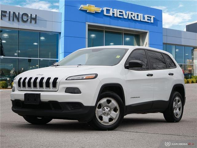 2014 Jeep Cherokee Sport (Stk: 153178) in London - Image 1 of 28