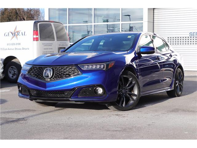 2019 Acura TLX Tech A-Spec (Stk: P19062) in Ottawa - Image 1 of 27