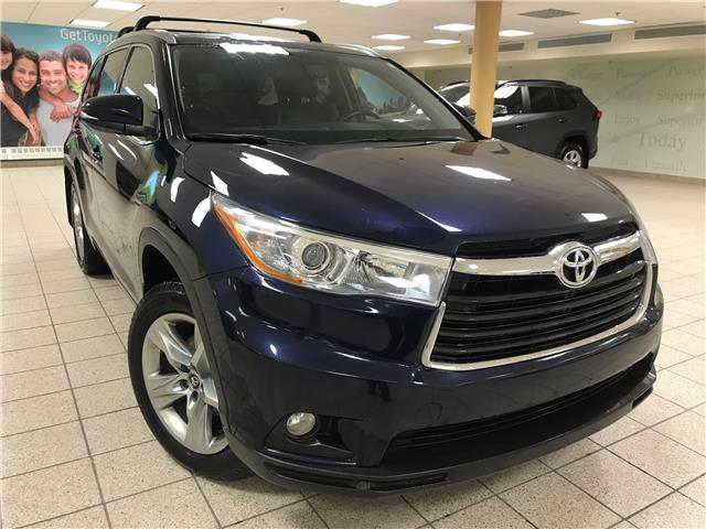 2016 Toyota Highlander Limited (Stk: 210258A) in Calgary - Image 1 of 23