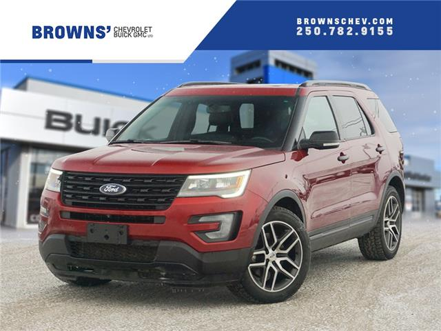 2016 Ford Explorer Sport (Stk: 4567A) in Dawson Creek - Image 1 of 15
