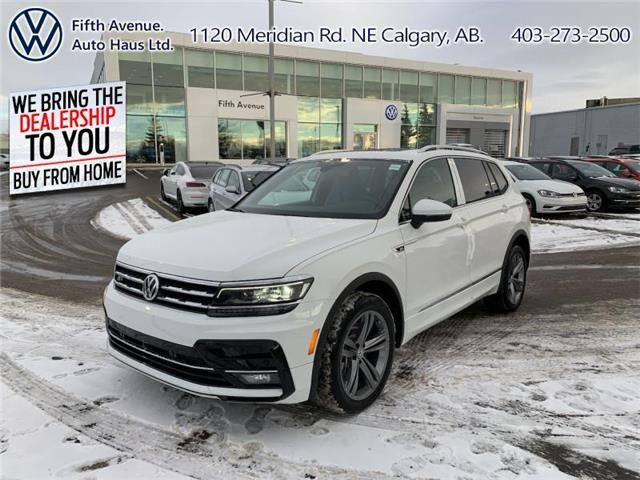 2021 Volkswagen Tiguan Highline (Stk: 21085) in Calgary - Image 1 of 30
