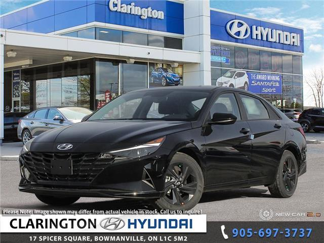 2021 Hyundai Elantra Preferred w/Sun & Safety Package (Stk: 20871) in Clarington - Image 1 of 22