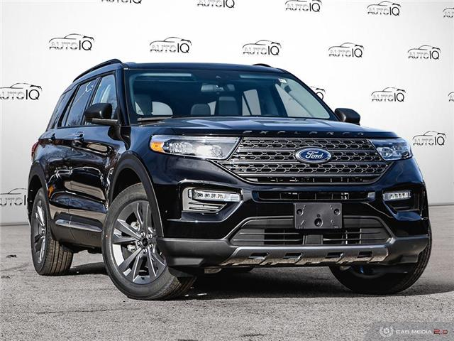 2021 Ford Explorer XLT Black