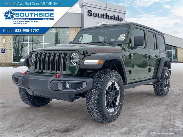 2021 Jeep Wrangler Unlimited Rubicon (Stk: WR2114) in Red Deer - Image 1 of 25