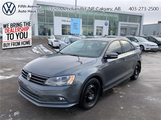 2015 Volkswagen Jetta 2.0 TDI Highline (Stk: 3516B) in Calgary - Image 1 of 24