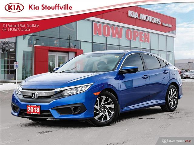 2018 Honda Civic EX (Stk: 21142A) in Stouffville - Image 1 of 26