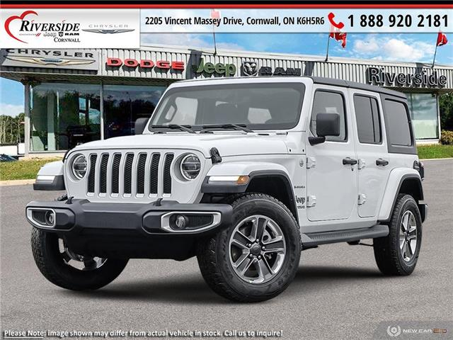 2021 Jeep Wrangler Unlimited Sahara (Stk: N21039) in Cornwall - Image 1 of 23