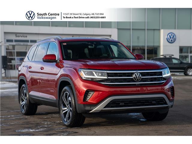 2021 Volkswagen Atlas 3.6 FSI Execline (Stk: 10076) in Calgary - Image 1 of 48