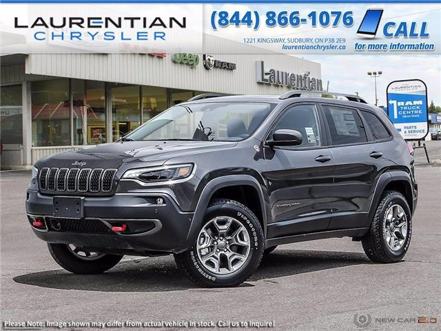 2021 Jeep Cherokee Trailhawk (Stk: 21103) in Sudbury - Image 1 of 23