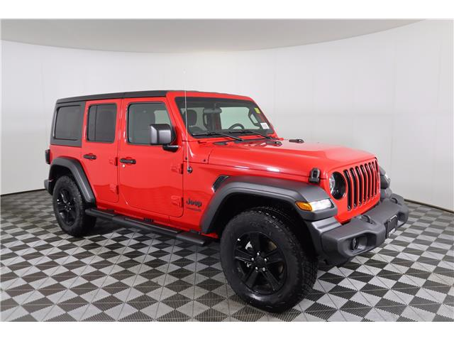2021 Jeep Wrangler Unlimited Sport (Stk: 21-63) in Huntsville - Image 1 of 24