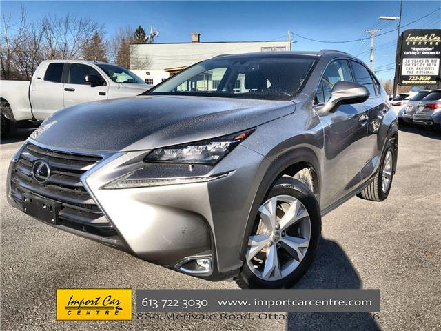2017 Lexus NX 200t Base (Stk: 116322) in Ottawa - Image 1 of 26