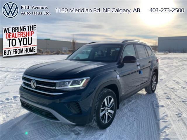 2021 Volkswagen Atlas 3.6 FSI Comfortline (Stk: 21081) in Calgary - Image 1 of 30