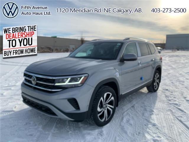 2021 Volkswagen Atlas 3.6 FSI Execline (Stk: 21079) in Calgary - Image 1 of 30