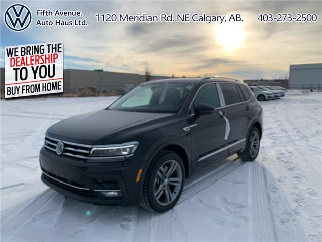 2021 Volkswagen Tiguan Highline (Stk: 21088) in Calgary - Image 1 of 30