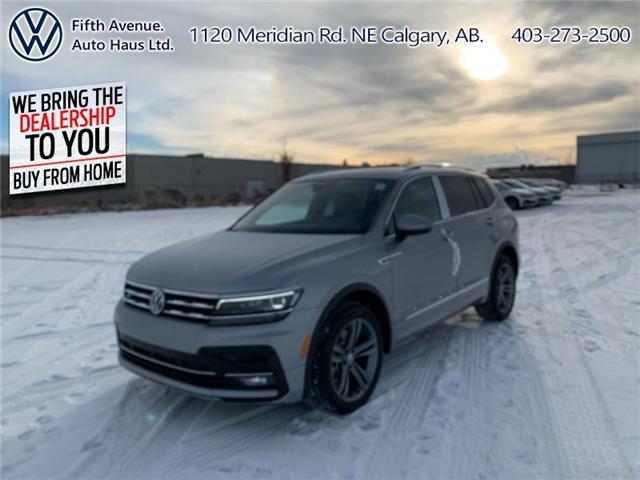 2021 Volkswagen Tiguan Highline (Stk: 21089) in Calgary - Image 1 of -45