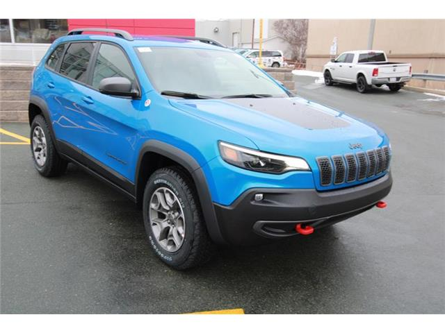2021 Jeep Cherokee Trailhawk (Stk: PW1665) in St. John\'s - Image 1 of 22