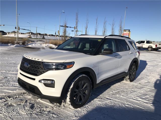 2021 Ford Explorer XLT (Stk: MEX015) in Fort Saskatchewan - Image 1 of 23
