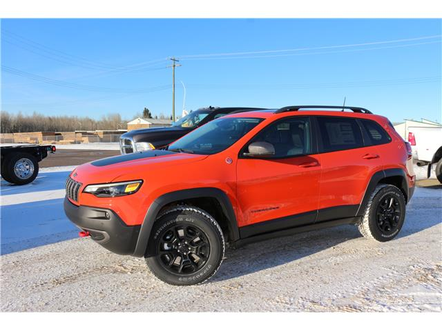 2021 Jeep Cherokee Trailhawk (Stk: MT015) in Rocky Mountain House - Image 1 of 27